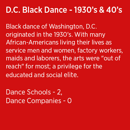 DC Black Dance 1930s and 40s.1