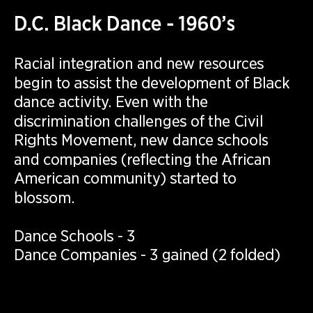 DC Black Dance 1960's