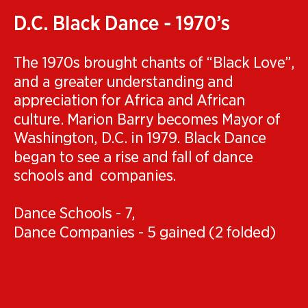 DC Black Dance 1970's