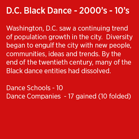 DC Black Dance 2000